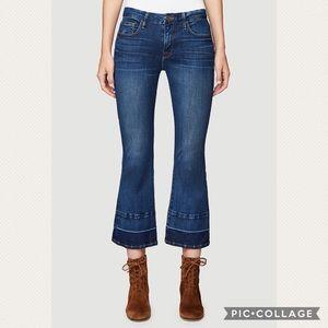 Frame Le Crop Mini Boot Jeans In Atlas